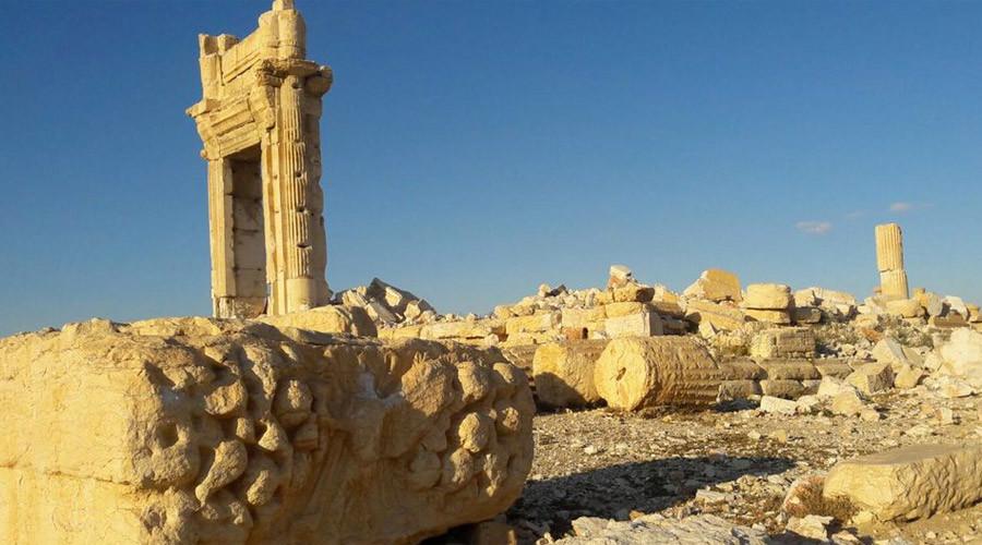 Palmyra's amazing but sad images fresh from RT correspondent
