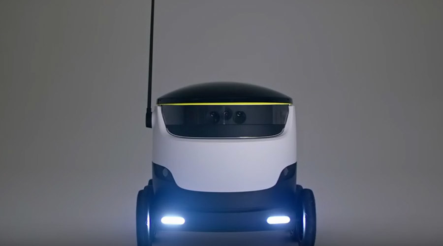 6-wheeled 'friendly' delivery droid the latest tech to threaten human jobs (VIDEO)