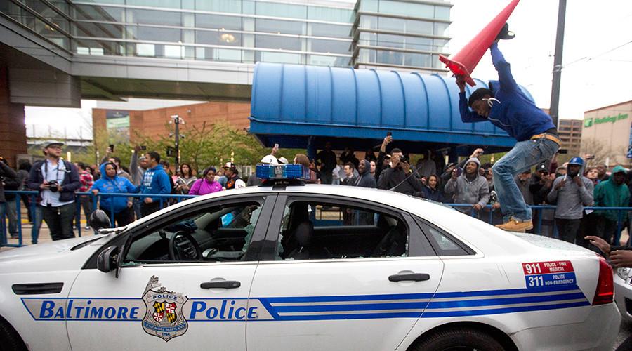 Baltimore 'broken windows' protester catches sentencing break