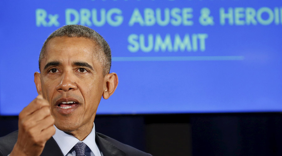 Obama urges rethink on US drug policies as opiod overdoses kill more than traffic accidents