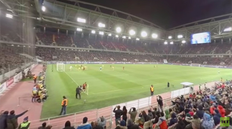 360 degree soccer: Revolutionary new way to watch Russia play