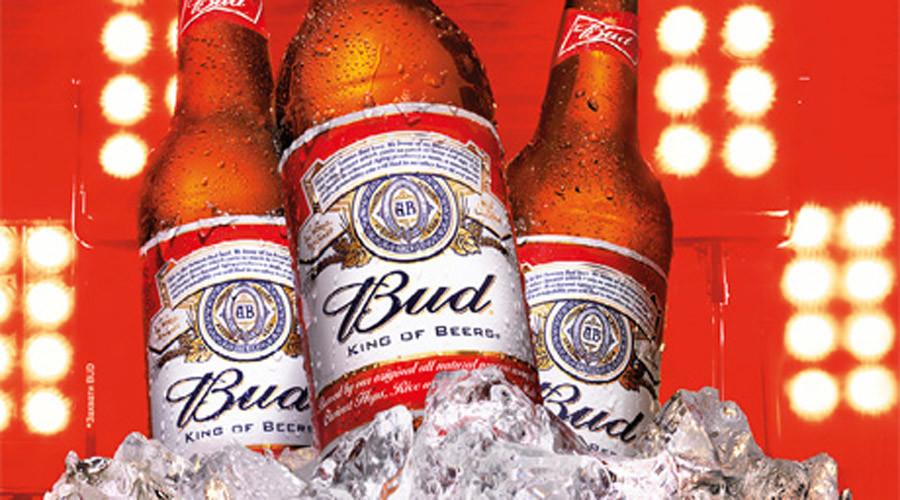 Budweiser sales surge in Russia despite struggling beer market