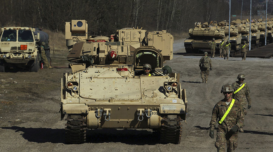 Russia vows 'totally asymmetrical' response to major US troop build-up in Europe