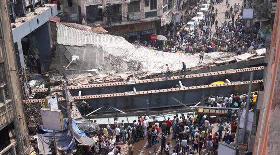 17 killed as under-construction bridge collapses in Kolkata, India (VIDEOS, PHOTOS)
