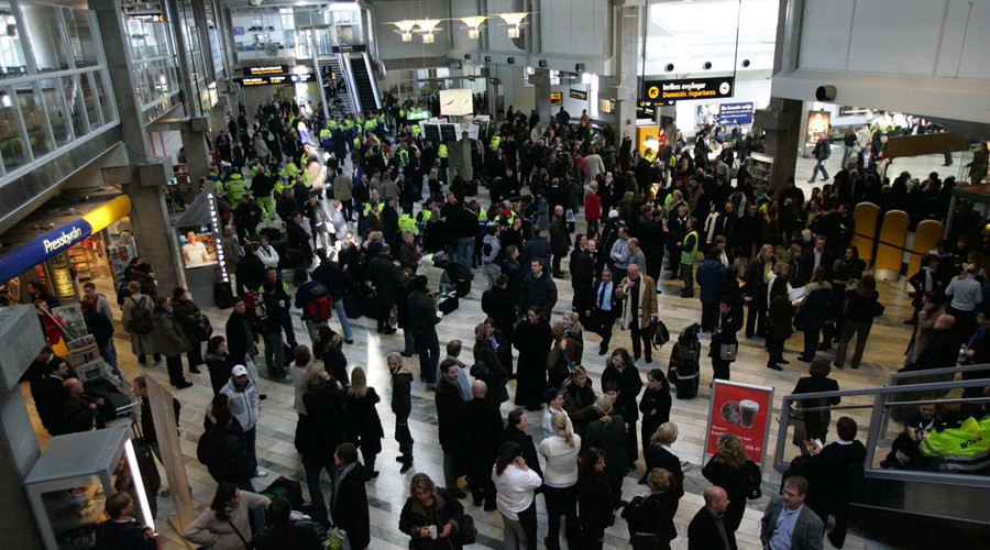 Terror threat: Bomb alert at Sweden's second-largest airport, 'suspicious' plastic bags found