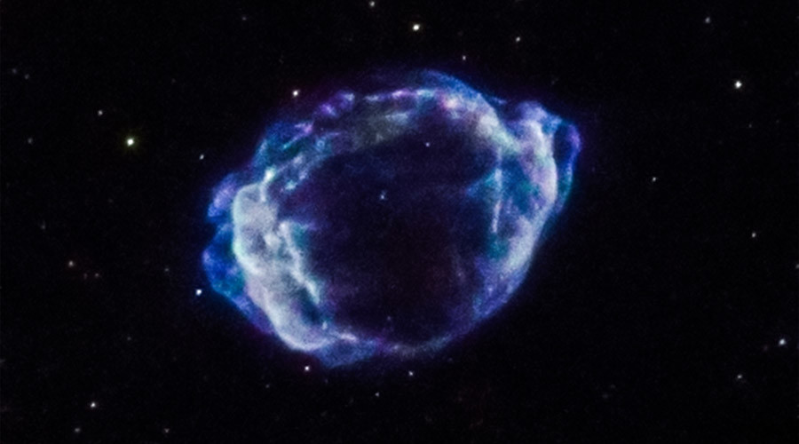 'Trigger' of Milky Way's latest supernova identified as collision of dying stars
