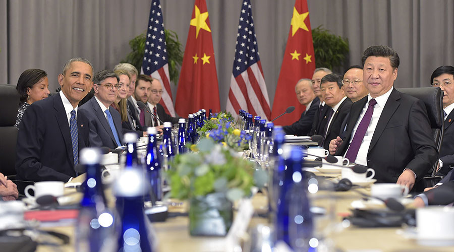 Obama and Xi announce joining climate change pact, urge others to do so
