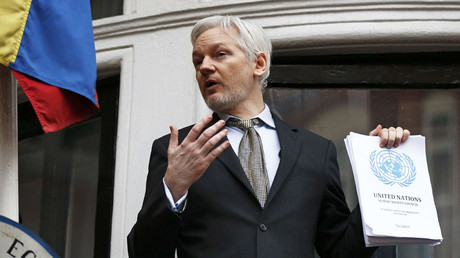 UK & Sweden 'undermining UN' over Assange detention – letter