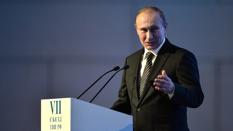 Russia to freeze oil output at January level - Putin