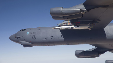 A U.S. Air Force B-52. ©Bobbi Zapka / USAF