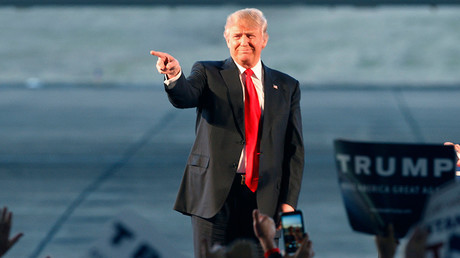 Republican U.S. presidential candidate Donald Trump © Karen Pulfer Focht