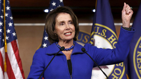U.S. House Minority Leader Nancy Pelosi (D-CA). © Jonathan Ernst