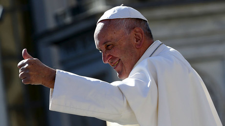Pope Francis says 'Arab invasion' is social fact ... and a good thing
