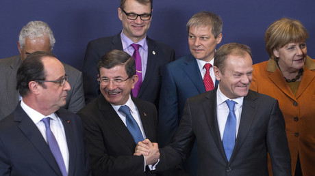 Schengen shell game? EU leaders laud 'breakthrough' Turkey refugee deal, Ankara pushes for accession