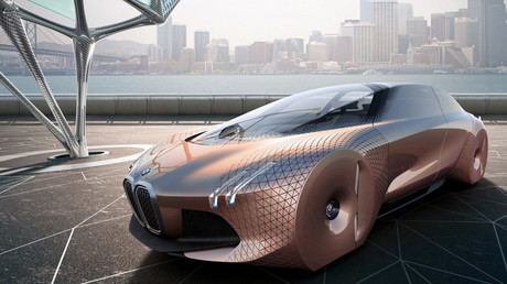 'Vision' of the future: BMW unveils incredible self driving concept car (PHOTOS, VIDEO)