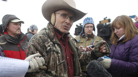 Arizona cattle rancher Robert 'LaVoy' Finicum © Jim Urquhart