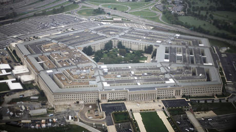 Aerial view of the United States military headquarters, the Pentagon © Jason Reed