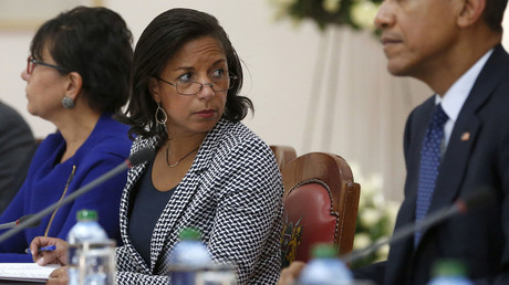 U.S. National Security Advisor Susan Rice (C). © Jonathan Ernst