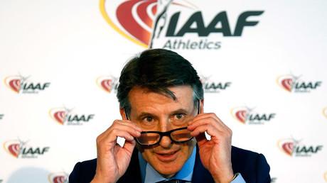 Sebastian Coe, IAAF's President © Eric Gaillard