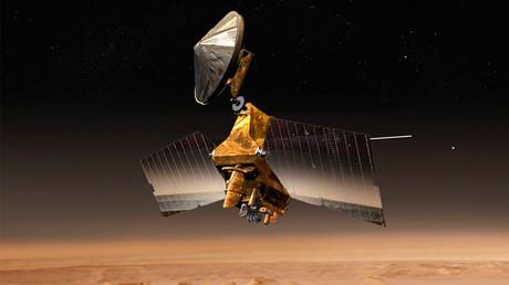 NASA's Mars Reconnaissance Orbiter © NASA