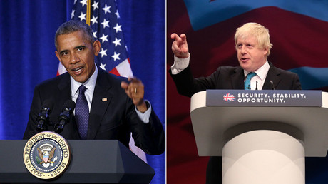 Boris v Barack: London mayor accuses Obama of Brexit 'hypocrisy'