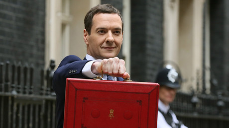 Britain's Chancellor of the Exchequer, George Osborne © Paul Hackett