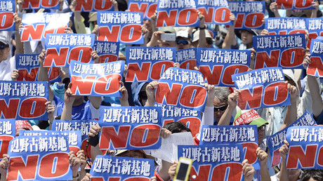 US military should 'feel ashamed' over aircraft incidents – Okinawa governor
