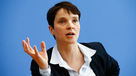 Frauke Petry, chairwoman of the anti-immigration party Alternative for Germany (AfD) © Wolfgang Rattay