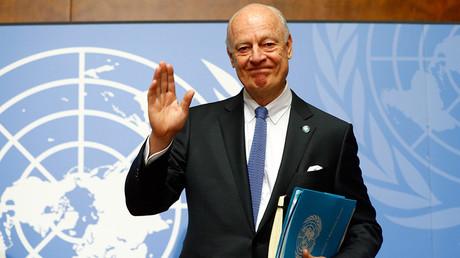 U.N. mediator for Syria Staffan de Mistura © Ruben Sprich