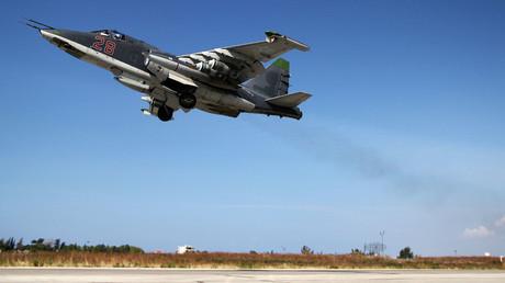 Russian warplanes start leaving Syria on Putin's orders