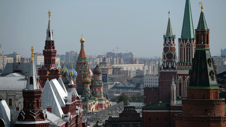 View of Red Square from the roof of the Ritz-Carlton Hotel, Moscow. © Alexey Filippov