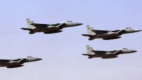 Royal Saudi Air Force jets. © Fahad Shadeed