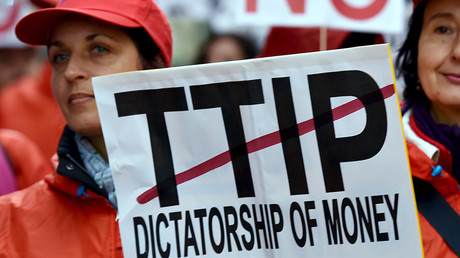 LEAKED: Big Business and Washington to have final say on EU trade laws under TTIP