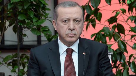 Turkish President Tayyip Erdogan © Alex Ibanez