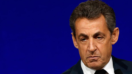Nicolas Sarkozy, head of France's Les Republicains political party and former French President © Jacky Naegelen