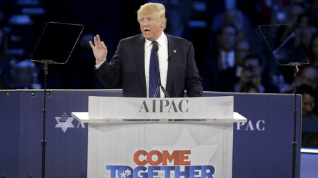 'Dismantle the disastrous deal': Trump tells AIPAC Iran deal is 'number one priority'