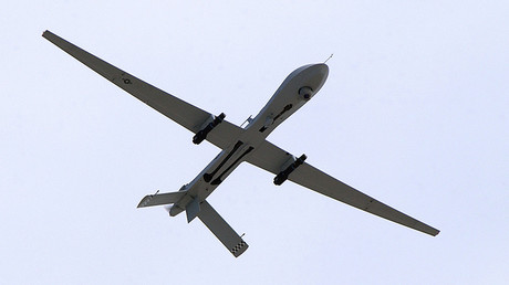 A U.S. Air Force MQ-1 Predator, unmanned aerial vehicle © Airman 1st Class Jeffrey Hall