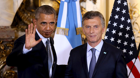 Obama in Argentina: 'Destroying' ISIS a top priority