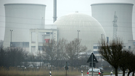 General view of the nuclear power plant in Biblis near Frankfurt, Germany. © Ralph Orlowski
