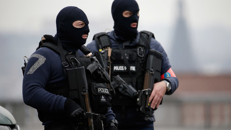 Terror suspect carrying suitcase of explosives arrested in Brussels operation