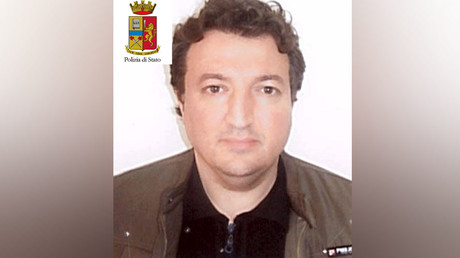Algerian Djamal Eddine Ouali, 40, is seen in this handout picture released by Italian police on March 27, 2016. ©Italian Police