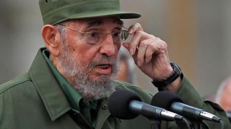 Former Cuban leader Fidel Castro © Desmond Boylan