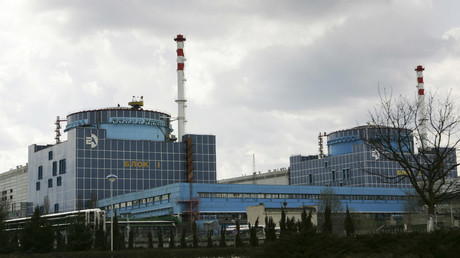 A general view of Khmelnitsky Nuclear Power Plant near Khmelnitsky, Ukraine © Stringer