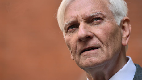 Former British Conservative MP Harvey Proctor is pictured as he arrives to address a press conference in central London, on March 29, 2016. © Ben Stansall