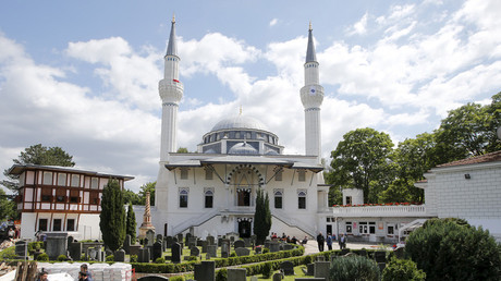A general view shows the Sehitlik-Moschee mosque in Berlin, Germany © Fabrizio Bensch