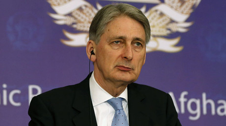 Britain's Foreign Secretary Phillip Hammond. © Omar Sobhani