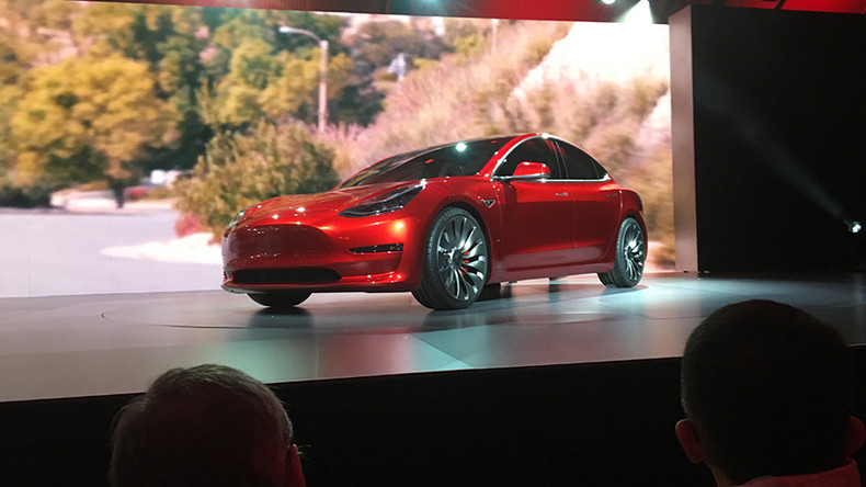 Pre-orders of Tesla Model 3 hit almost 200K in 24 hours