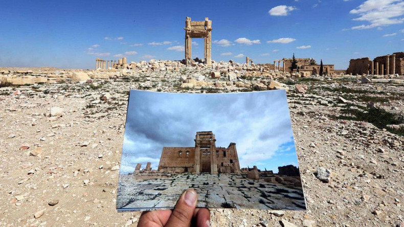 Missing monuments: Before & After pics of Palmyra show what ISIS has destroyed