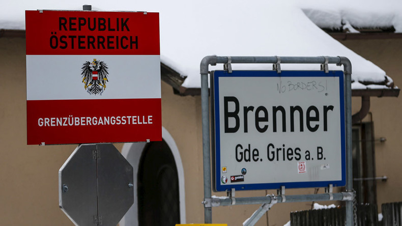 Austria to deploy troops at Alpine border to stop refugees coming through Italy