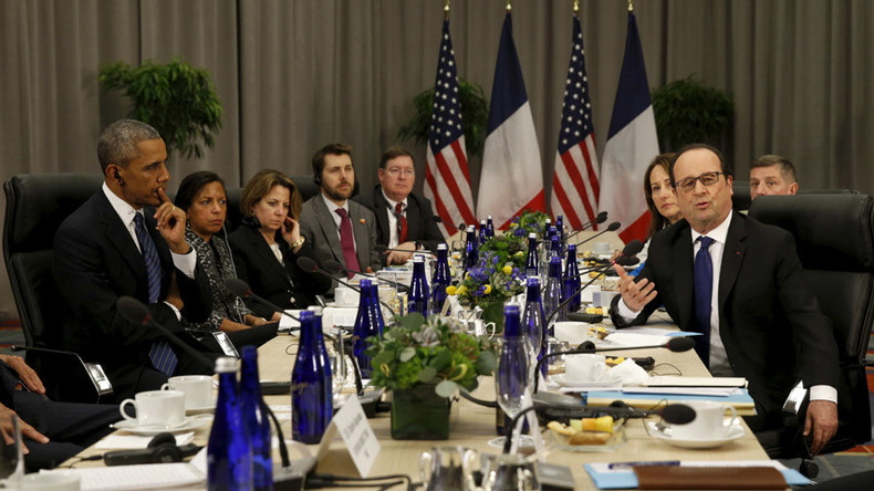 White House accused of censoring French president mentioning 'Islamist terrorism'